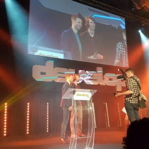 Search For A Star Presentation at Develop Awards 2017