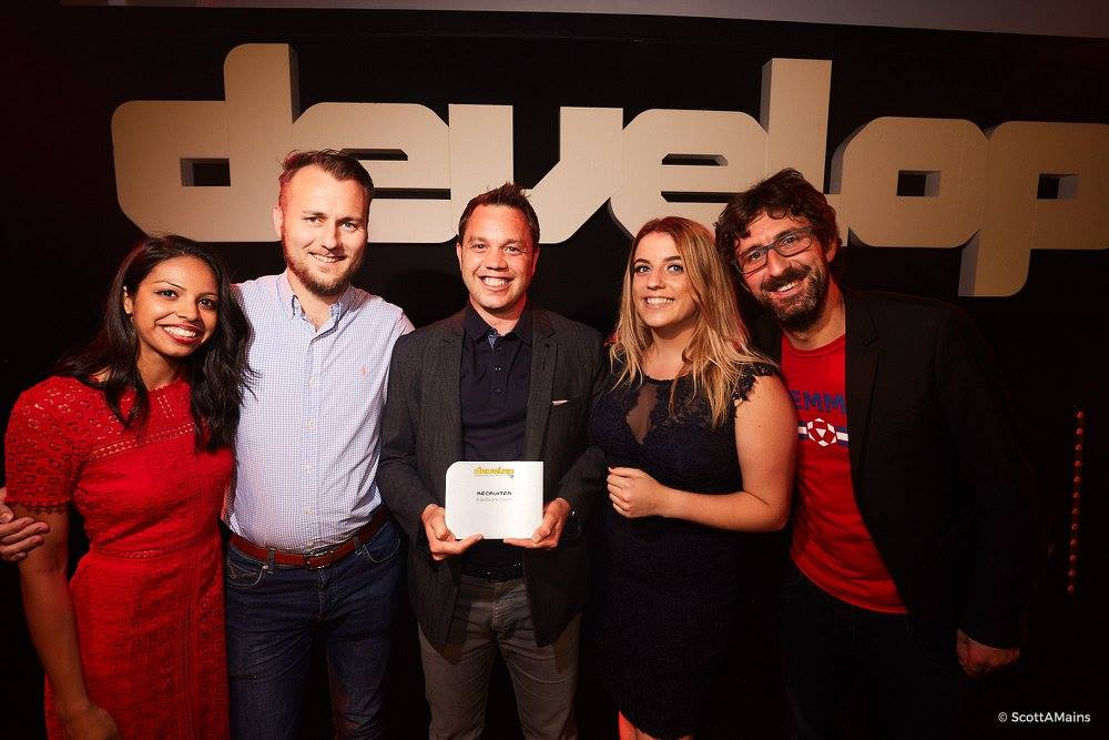 Aardvark Swift win Recruiter Award at Develop Awards 2017