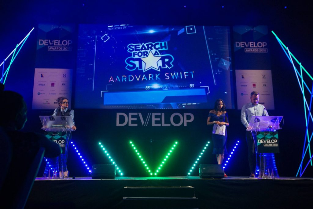 Search For A Star at Develop Awards 2018