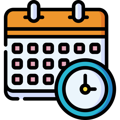 calendar icon for extended payment terms