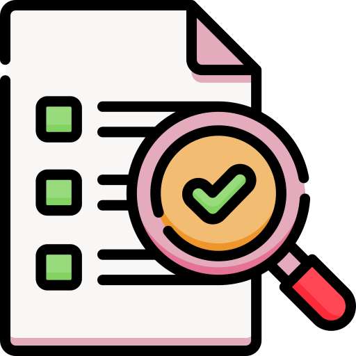checklist icon for indie terms eligibility