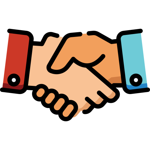 handshake icon for placement insurance