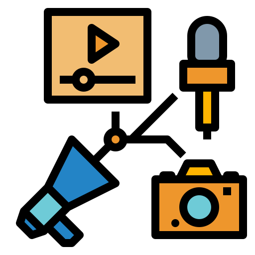 marketing icon for partner marketing services