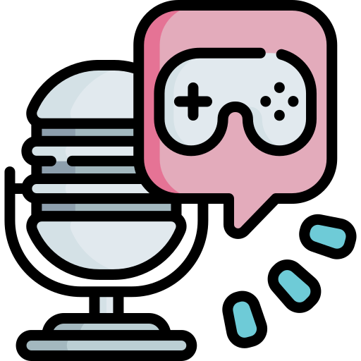 games related podcast icon