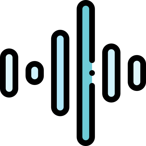 sound wave icon for social snippets